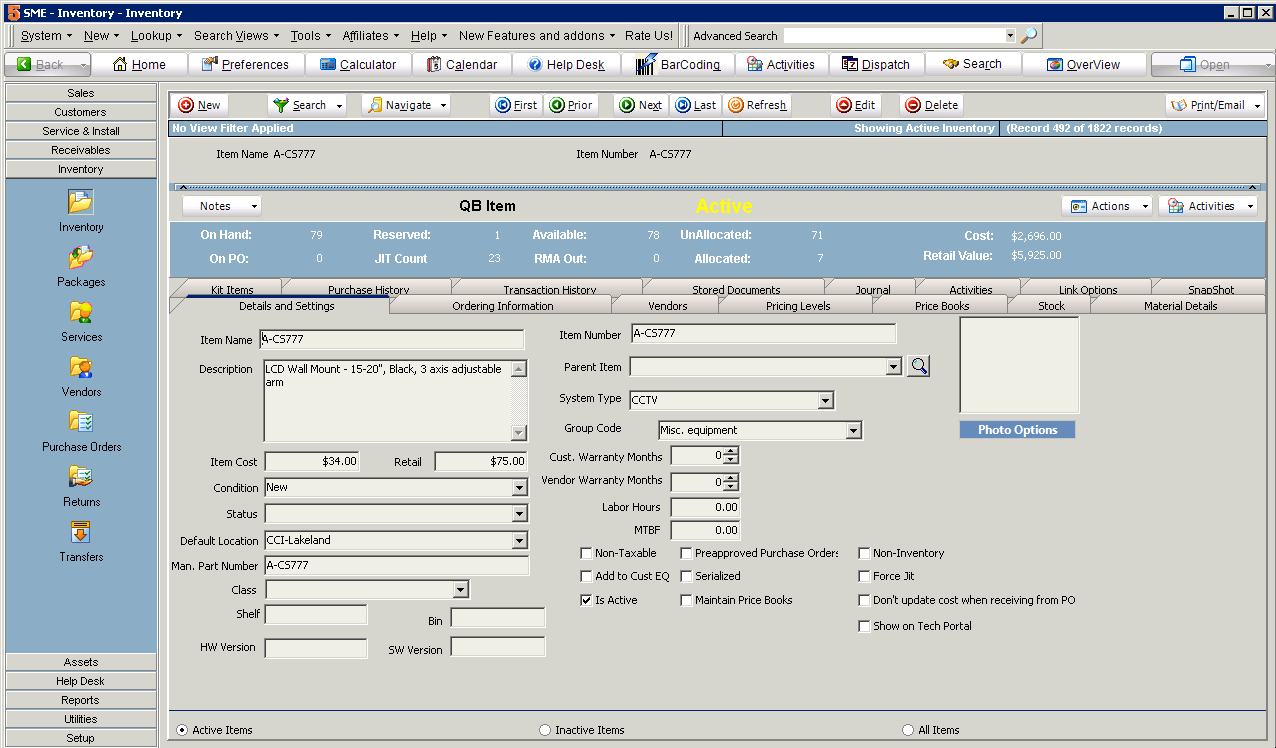sme-inventory - High 5 Software
