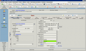 High 5 Software SME Service Section Details and Settings Tab Sample Screenshot