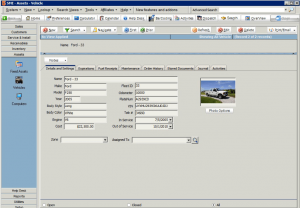High 5 Software SME Assets Vehicle Sample Screenshot